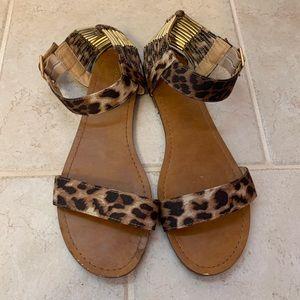 Mossimo Animal Print Sandals